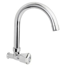 Wall Mounted One Input Kitchen Faucet