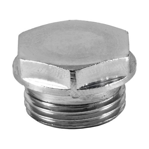 Filtered Angle Valve Cap (Chrome Plated)