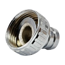 Washing Machine Tap Hose Nut (Chrome Plated)