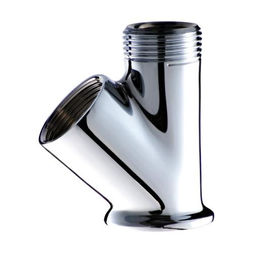 25 mm Ceramic Disc Cartridge Swan Neck One Input Mixer Faucet Body (Economic - Chrome Plated)