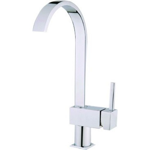 Square Mixer Kitchen Faucet