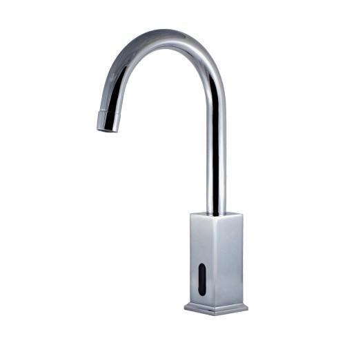 Swan Neck Spout Photocell Sink Faucet