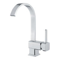 Buse Square Mixer Sink Faucet with Spout