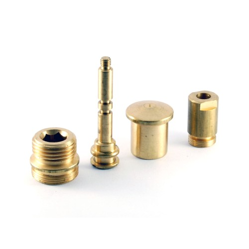 35 mm Ceramic Disc Cartridge Faucet Brass Water Rotator Set