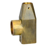 35 mm Ceramic Disc Cartridge Sultan Mixer Faucet Body